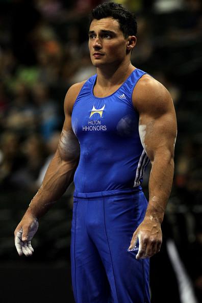 gymnast big arms